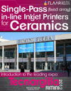 Single-Pass fixed array in-line Inkjet Printers for Ceramics, Tecnargilla 2012