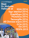 Meet Dr. Nicholas Hellmuth at FESPA London 2013, Chinese expos 2013, Graph Expo (Print 13), SGIA 201
