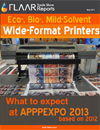 APPPEXPO 2013 2012 Shanghai eco bio mild solvent printers