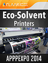 APPPEXPO 2014 uv solvent textile water-based inks media cutters laminators printers tradeshow FLAAR