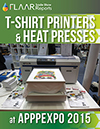 T-Shirt Printers and Heat Presses at APPPEXPO 2015