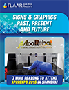 APPPEXPO 2016 LED 3D traditional signage FLAAR Reports