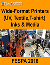 FESPA 2016 wide-format printers, inks and media