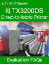 ITI TX3200DS, Direct-to-fabric Printer, Evaluation FAQs