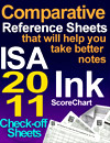 Comparative Reference Sheets ISA 2011 Ink ScoreChart