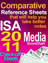 Comparative Reference Sheets ISA 2011 media ScoreChart