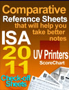 Comparative _Reference Sheets ISA 2011 UV Printers ScoreChart