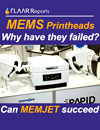 MEMS printheads page array page width MEMJET potential success 42 inch wide format inkjet label printer review