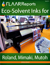 InkTec eco solvent Roland Mutoh DX4 DX5 quality aftermarket ink evaluation reviews large format printers