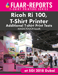 Magictouch  Booth, Ricoh R100 T-shirt Printer