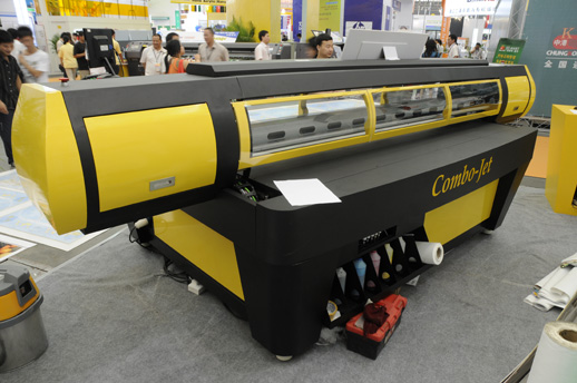 Combo-Jet UV-curable flatbed inkjet printer evaluations