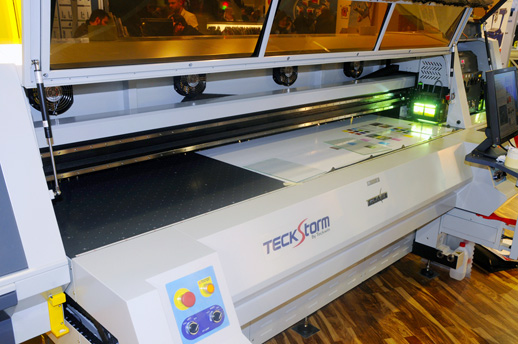Teckwin TeckStorm UV-curable flatbed printer evaluations