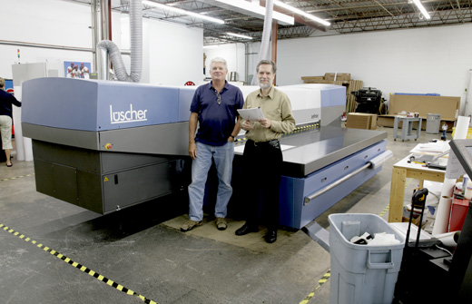 Luscher JetPrint 3530 UV-cured flatbed printer reviews