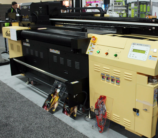 Dilli 1606uv Neo Titan flatbed printer evaluations