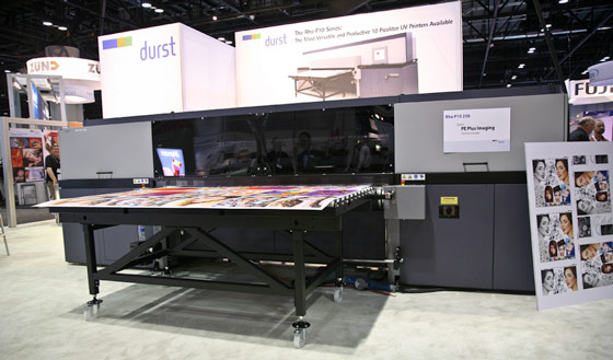 Durst P10 250 UV-cured combo printer