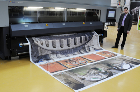 Samples of the Durst Rho 351R roll-to-roll UV-cured inkjet printer reviews