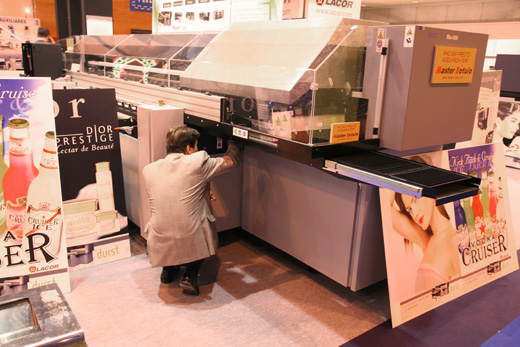 Image of Durst Rho 600 combo UV-curable flatbed printer