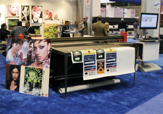 The H650 UV hybrid flatbed printer evaluations