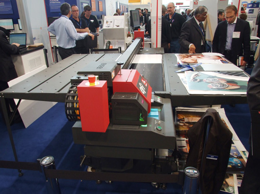 EFI Rastek H650 printer fespa munich 2010