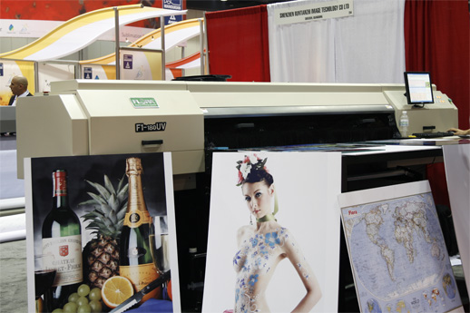 Flora F1-180UV printer, ShenZhen Runtianzhi image Technolgy Co. Ltd