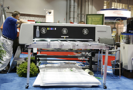 Gerber Solara UV2 flatbed hybrid UV-curable printer