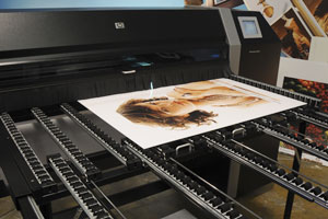 HP Designjet H45000, H45100 reviews. ColorSpan 5445uv is now HP Designjet H45100 evaluations