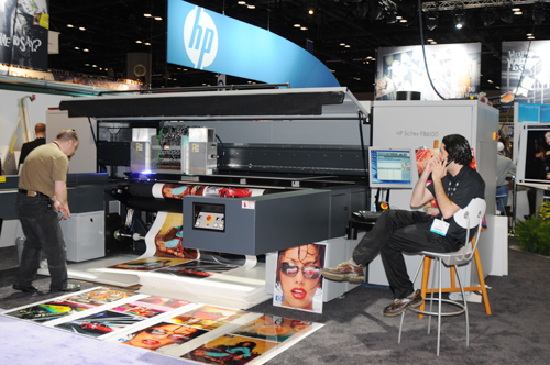 HP Scitex FB6100 flatbed UV printer reviews