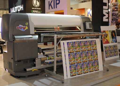 Samples of The Mutoh Zephyr UV Hybrid