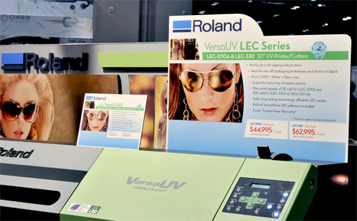 Roland VersaUV LEC-330 printer evaluations