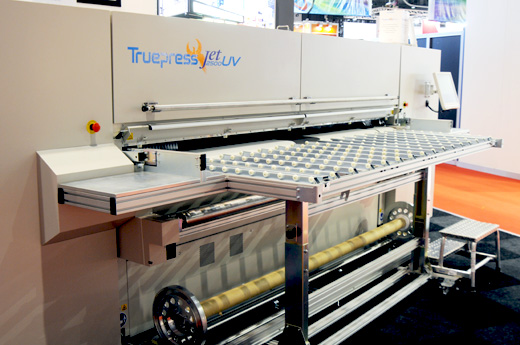 Dainippon Screen Truepress Jet2500UV equipment evaluation
