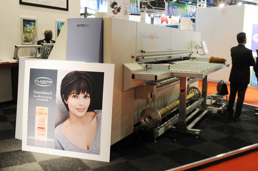 evaluations of the Screen Truepress Jet2500UV curable combo-style flatbed inkjet printer
