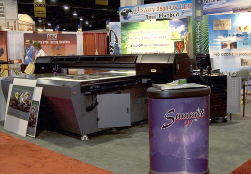 Summit Destiny 2500 UV flatbed printer reviews