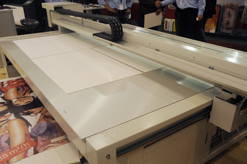 The Swiss Qprint Oryx flatbed UV inkjet printer evaluations