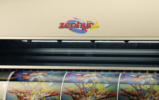 The Mutoh Zephyr UV Hybrid evaluations