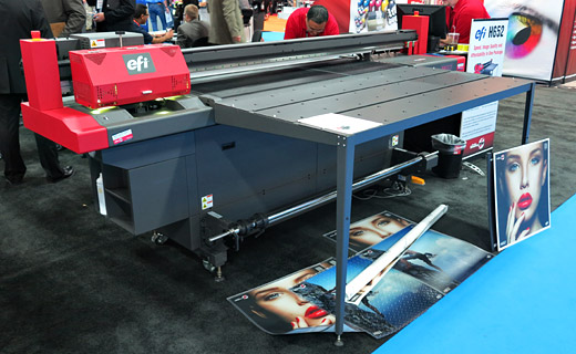 The H652 UV hybrid flatbed printer evaluations