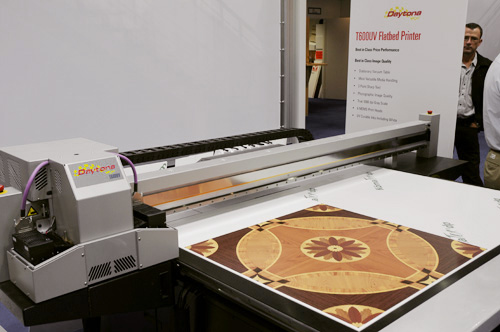 Raster Printers dedicated flatbed:Daytona T600uv