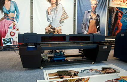 Yishan YS2407-EB, Digirex Technojet Flat UV-cured flatbed printer