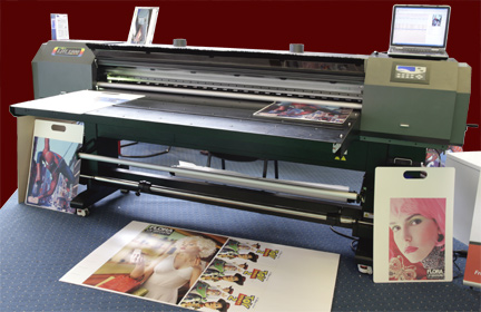 Raster Printers, Flora LJII 1800 UVS-Pro UV-curable flatbed printer