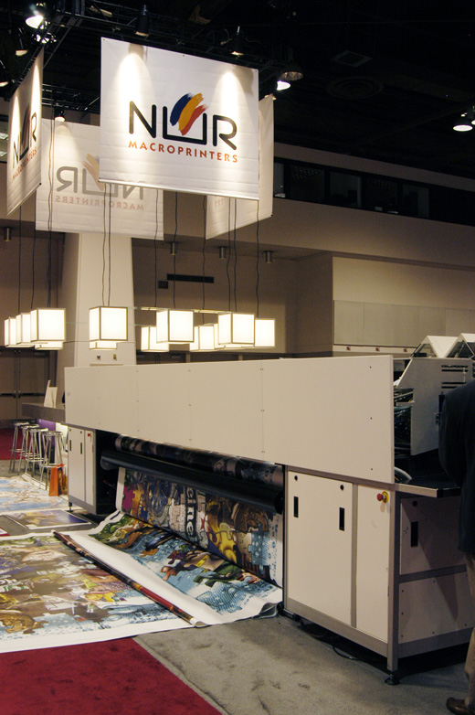 NUR Expedio series was the first roll-to-roll grand format UV-curable ink printer