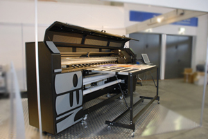 Neolt UV printers, SuperJet M-Series 2050, 2500, and 3200, Triangle Milano