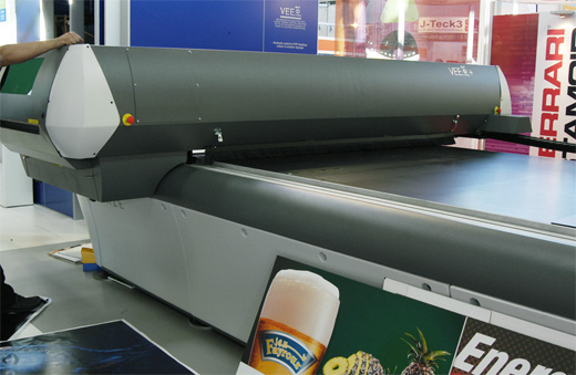 Scitex Vision VEEjet printer evaluations
