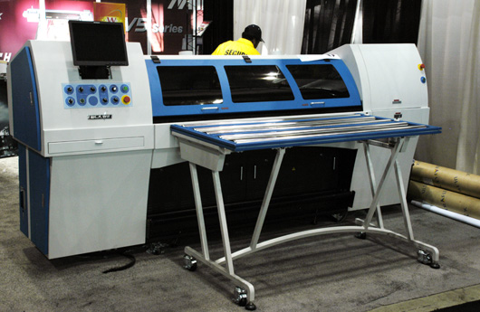 Chinese UV-curable ink flatbed printers Teckwin TeckUV1800, Teckwin TeckSmart UV1600, Teck UV S2400