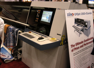 Zund UVJet 250-Combi UV-curable hybrid printer
