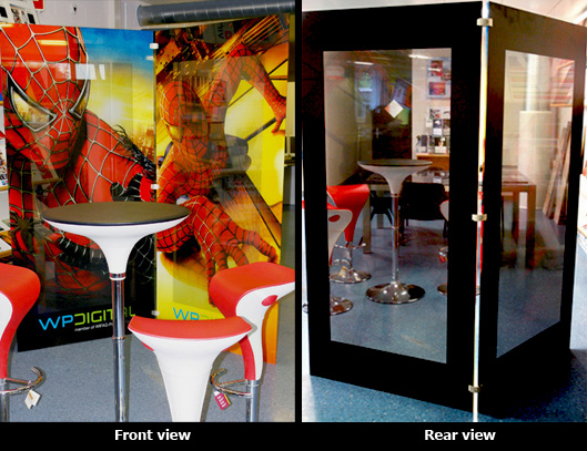 glass printing, wide-format inkjet printing on glass (and Plexiglas, acrylic and mirrors