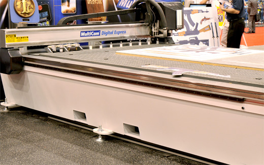 MultiCam Digital Express cutting systems router