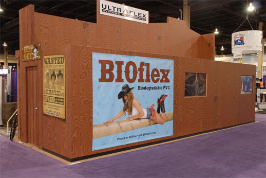 Ultraflex, fabrics or wallpaper material printable with wide-format solvent and UV-cured printers