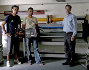 Roland Soljet eco solvent printer