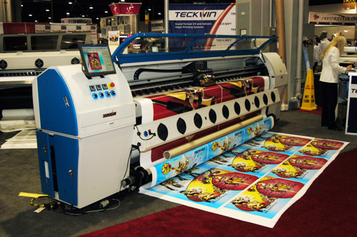 Teckwin solvent printer evaluations