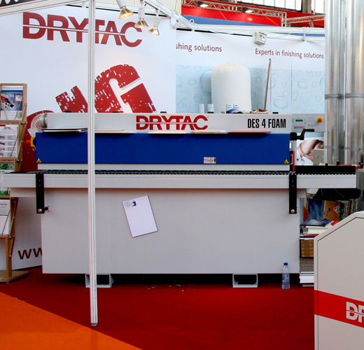Drytac DES 4-Foam, edge finishing adhesive system for Foamcore, Forex, Sintra, or Kappaboard