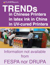 Trends china printers, UV latex